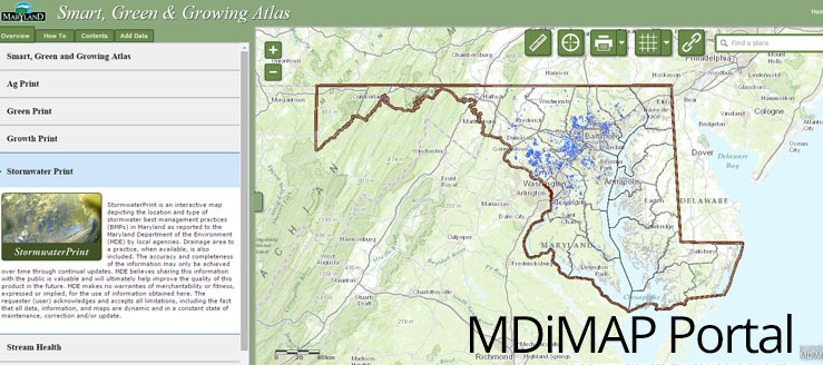 Maryland's Map Portal