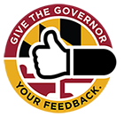 Give the Governor Your Feedback Logo